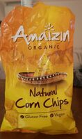 Natural corn chips - Product - fr