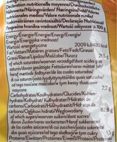Natural corn chips - Nutrition facts - fr