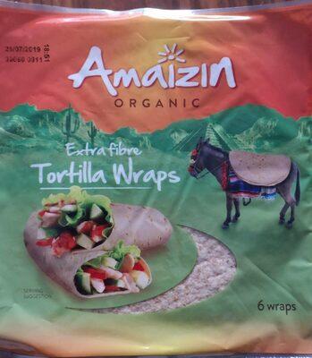 Extra fiber tortilla wraps - Product
