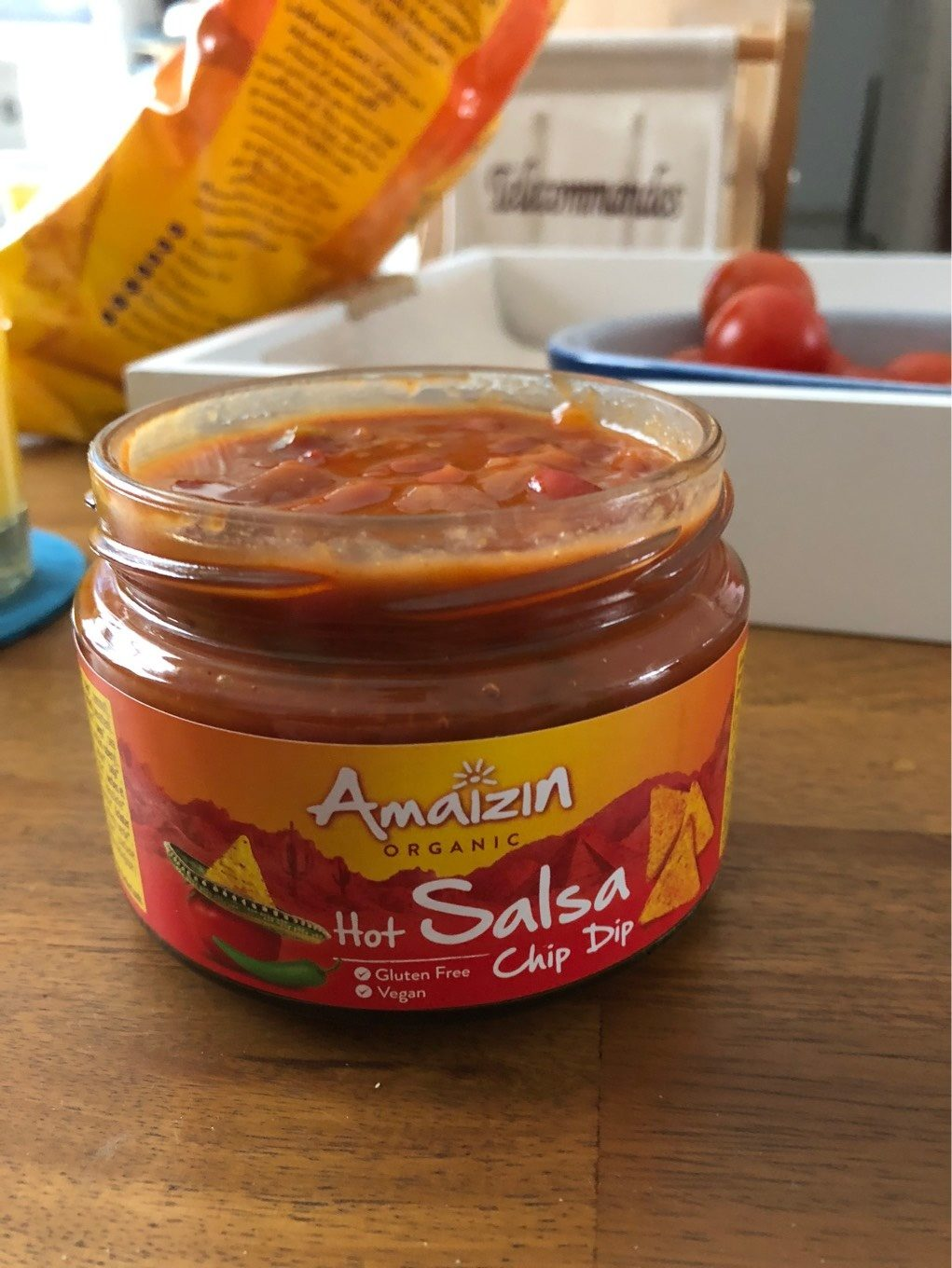 Hot salsa chip dip - Product - fr