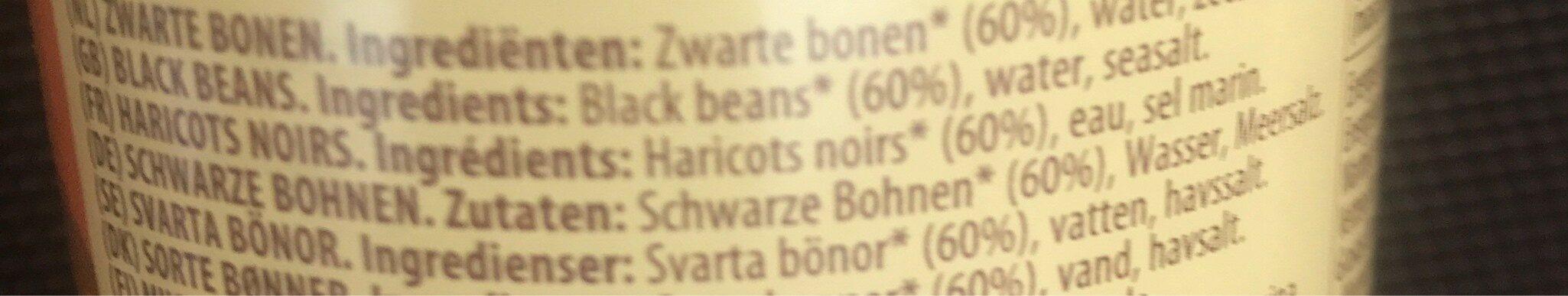 Black Beans - Ingredients - fr