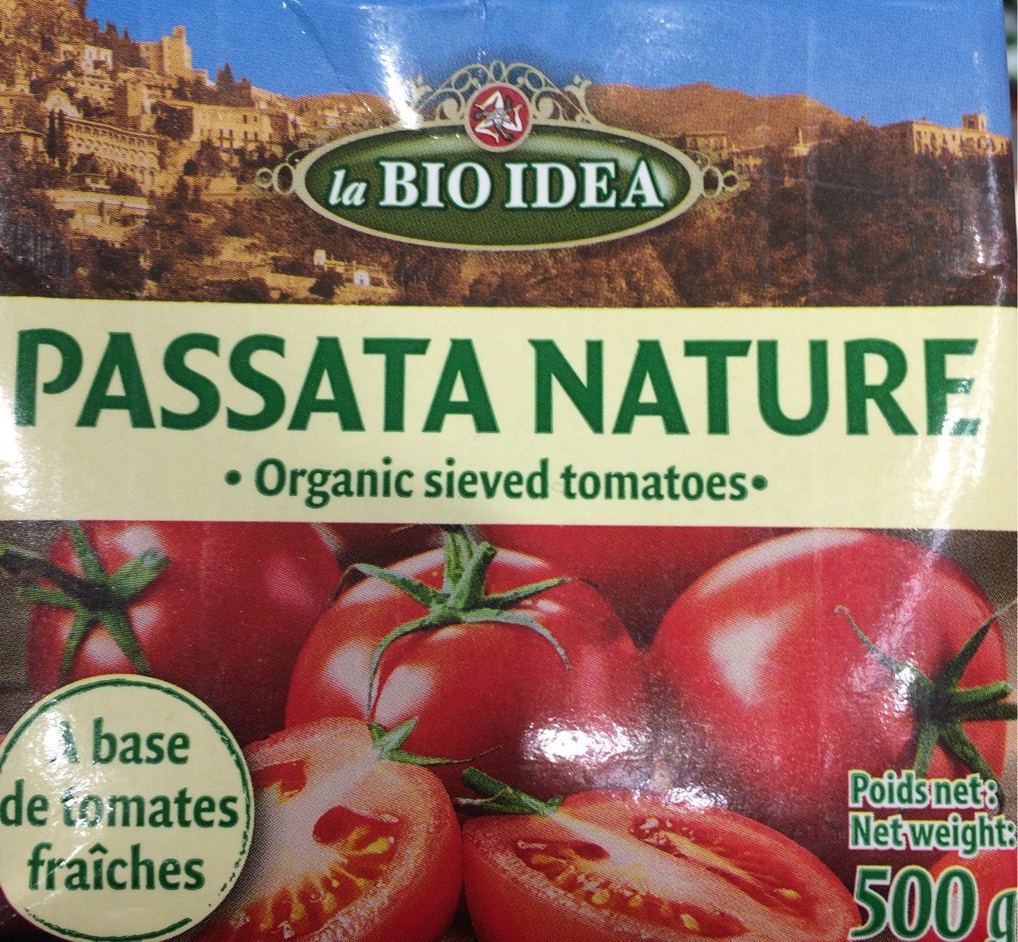 Passata nature - Produit - fr