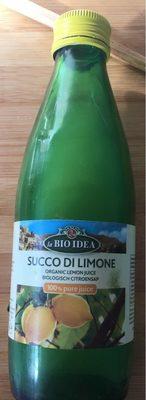 Succo di limone - Product - fr