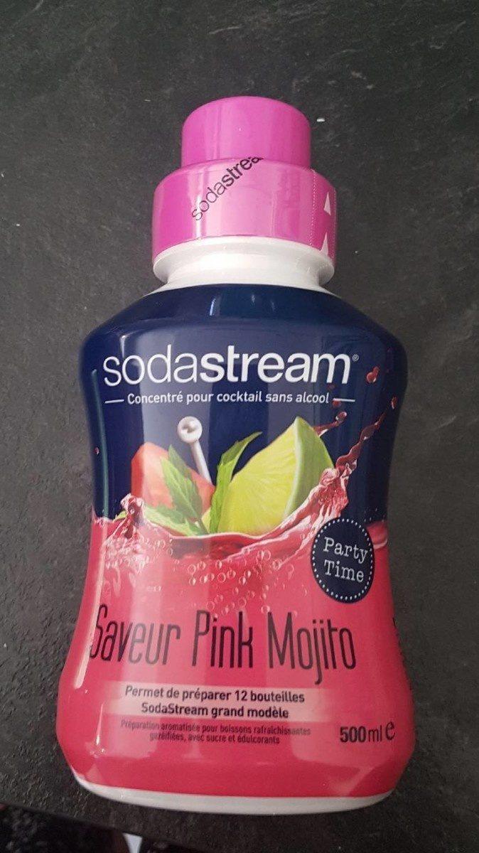 Saveur pink mojito - Produit - fr