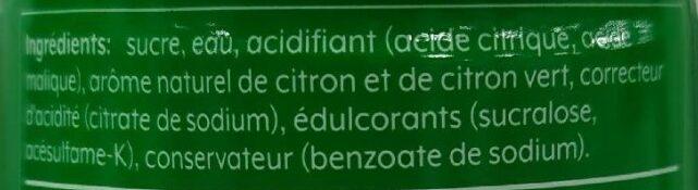 Concentré 7 up - Ingrédients - fr