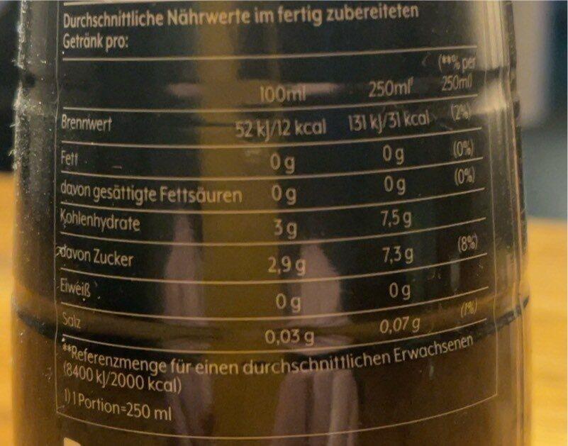 Mountain Dew - Voedingswaarden - nb
