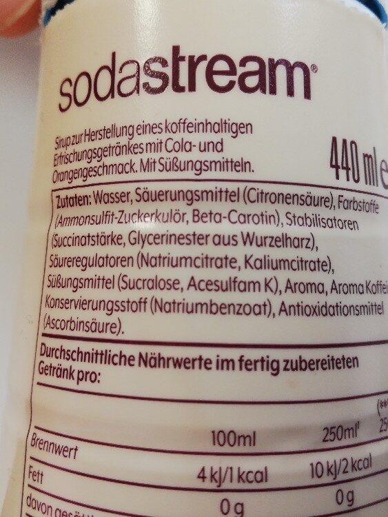 Schwip Schwap Zero - Ingredients - de