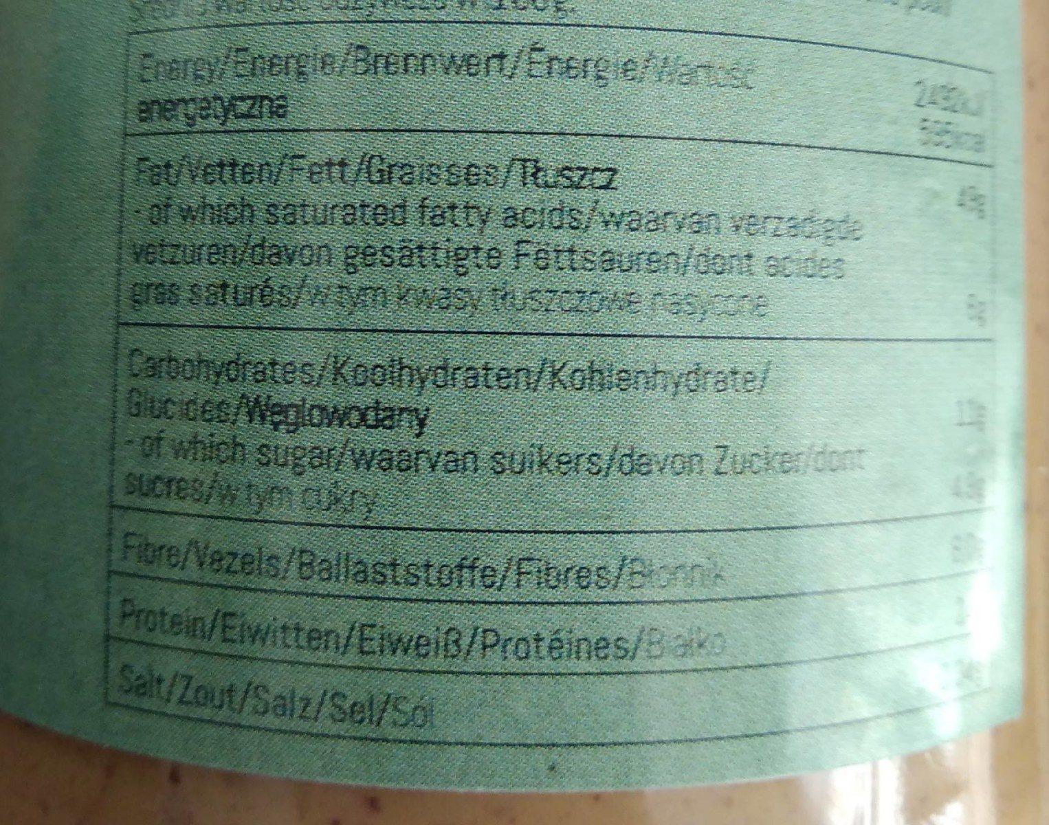 Beurre de noix mélangées - Voedingswaarden - fr