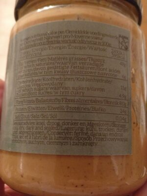 Mixed Nut Butter - Informations nutritionnelles - fr