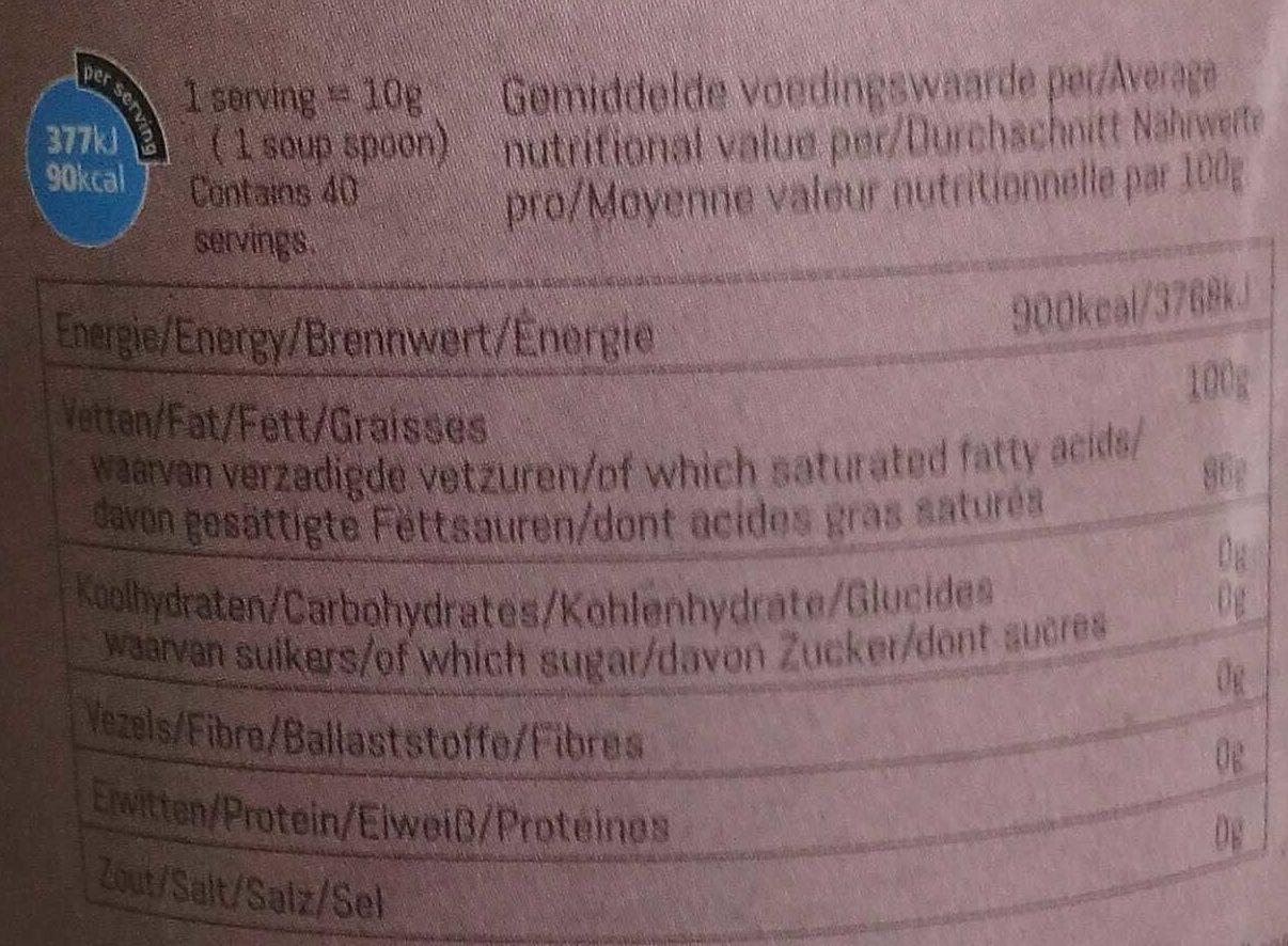 huile de coco inodore biowise 400 g bio wise