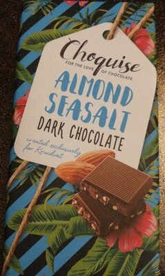 Almond seasalt dark chocolate - Product - fr