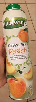 Pickwick Green Tea Peach - Produit