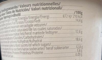Glace a base de Coco Fermentée 500GR Bio - Abbot Kinney's - Nutrition facts - fr