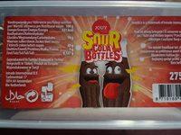 Sour cola bottles - Product - fr