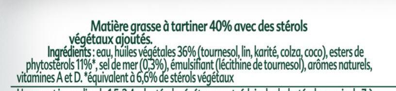 ProActiv Margarine Tartine Sans Huile de Palme 450g - Ingrediënten - fr