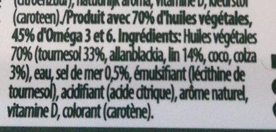 Becel Pure - Ingrediënten - fr