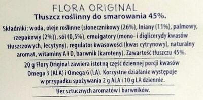 Tłuszcz roslinny do smarowania 45 %. - Składniki - pl