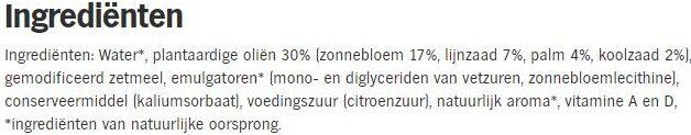 Becel Light - Ingredients - nl