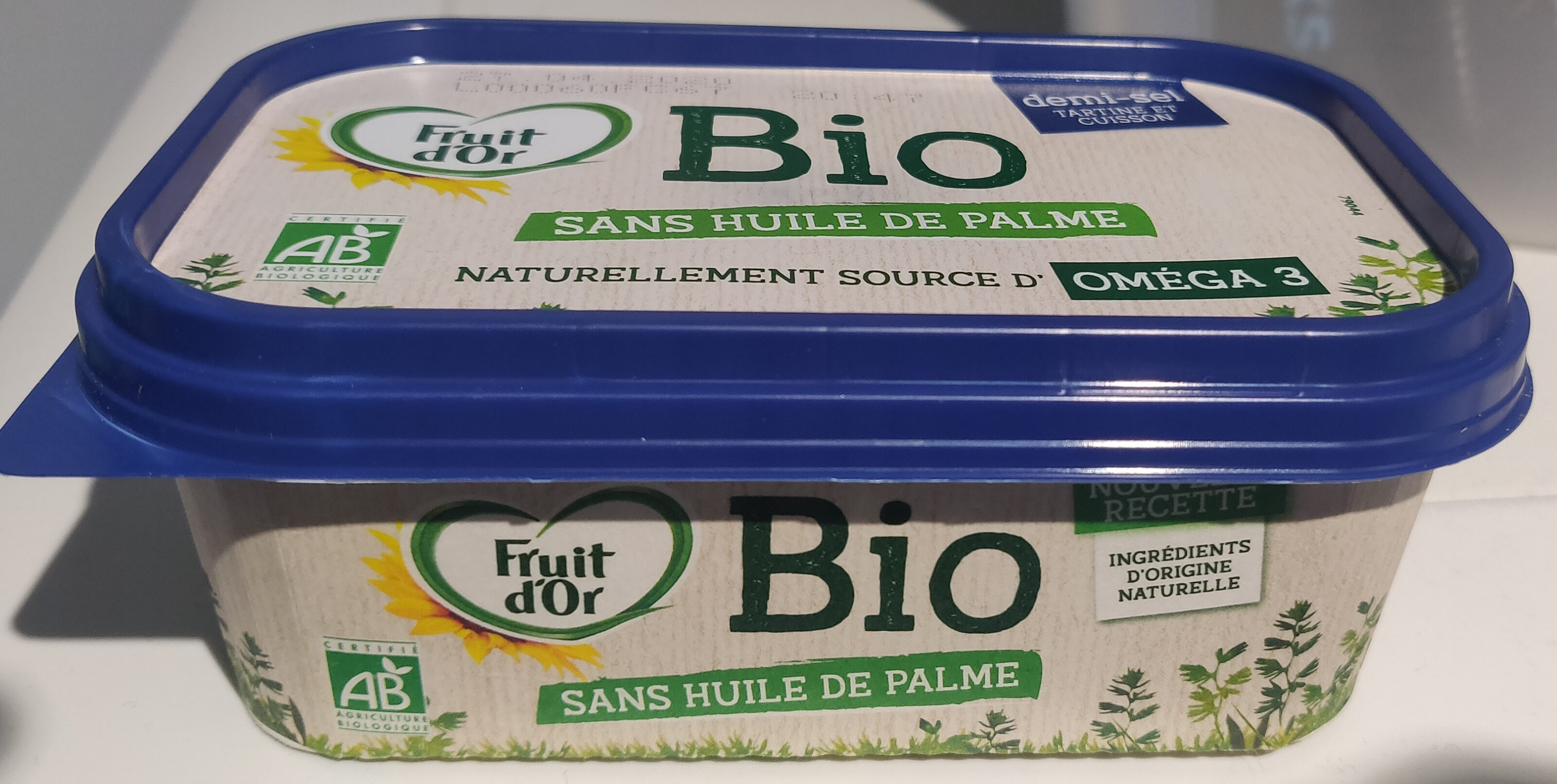 Margarine demi-sel sans huile de palme - Prodotto - fr