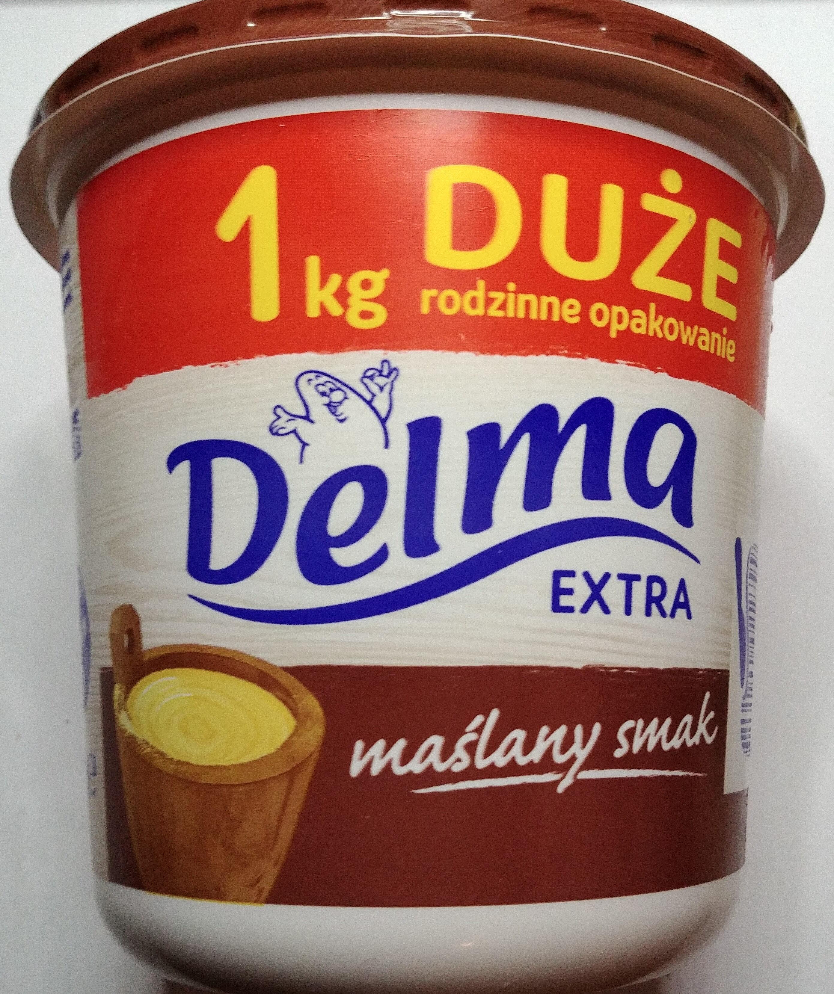 Margaryna półtłusta o smaku masła. - Product - pl