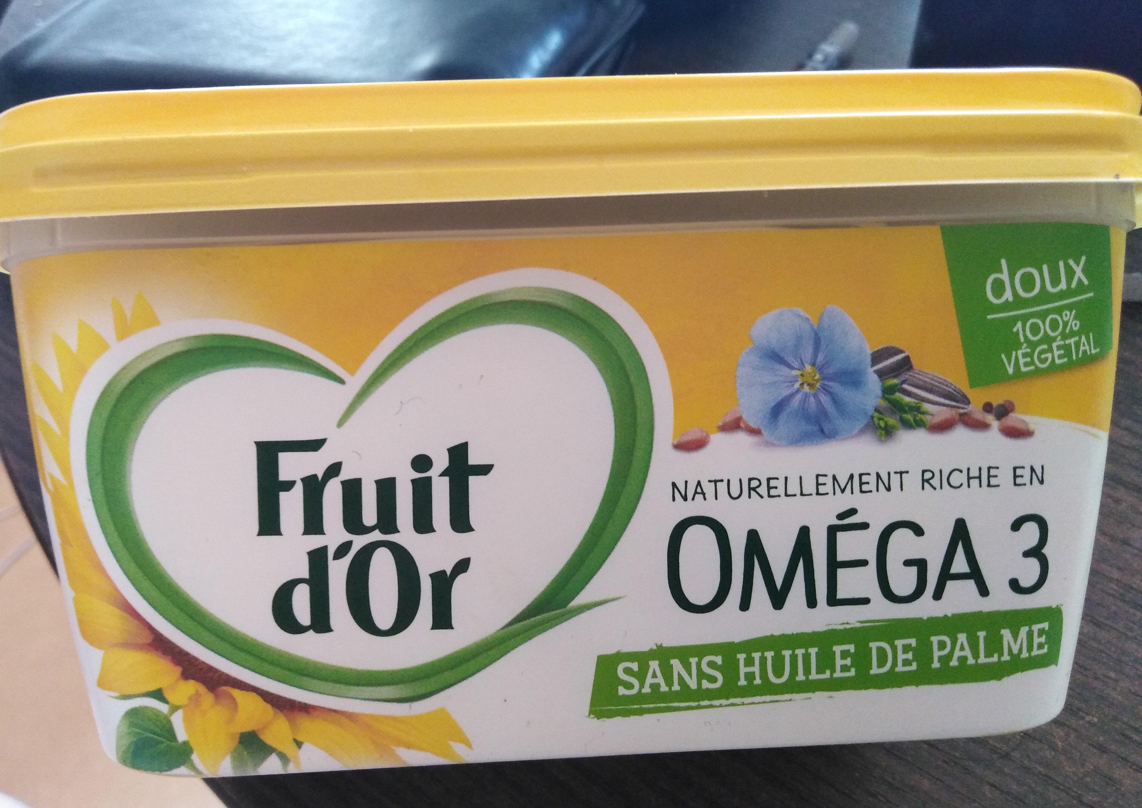 Fruit d'or omega 3 sans huile de palme - Product - fr