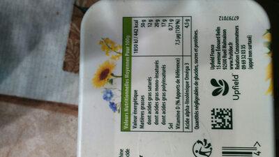 Fruit d'or doux - Nutrition facts - fr