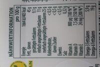 Becel ProActive - Valori nutrizionali - de