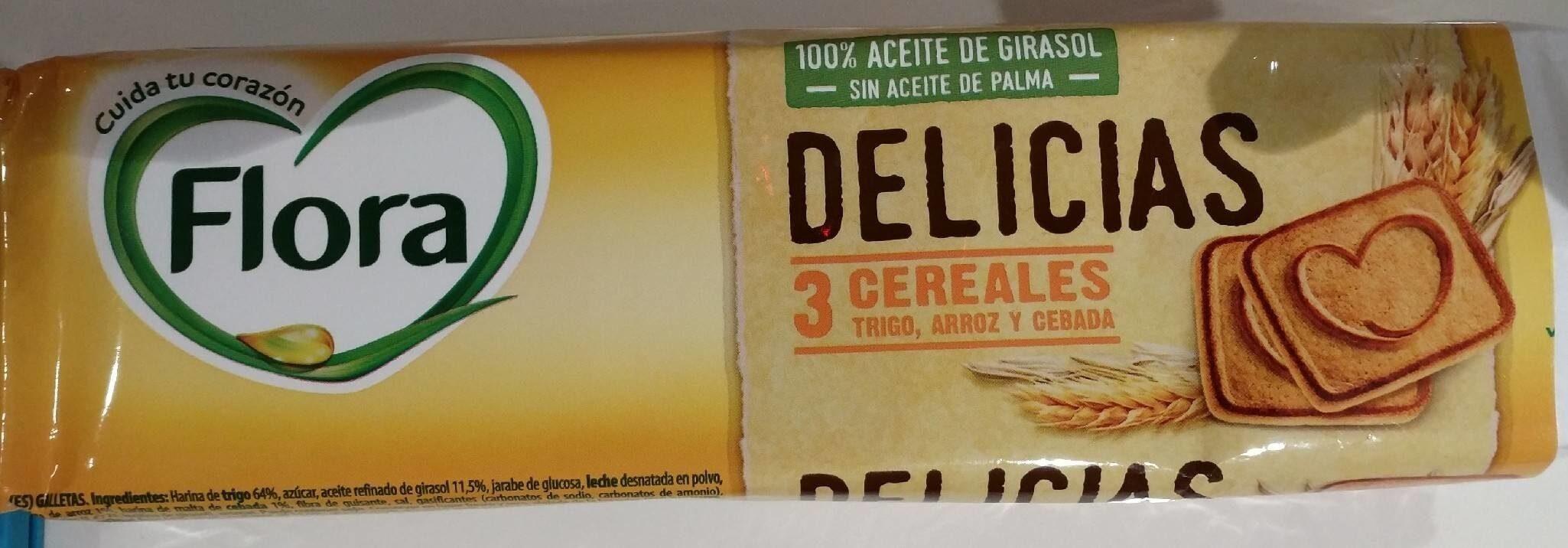 Galletas delicias 3 cereales - Prodotto - es