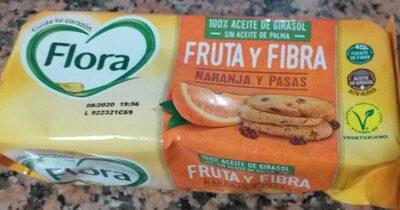 Galletas fruta y fibra - Product - es