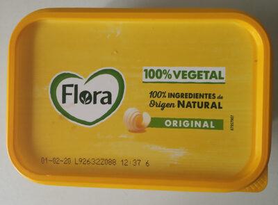 Flora 100% vegetal