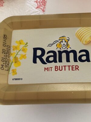 Rama mit butter - Product - fr
