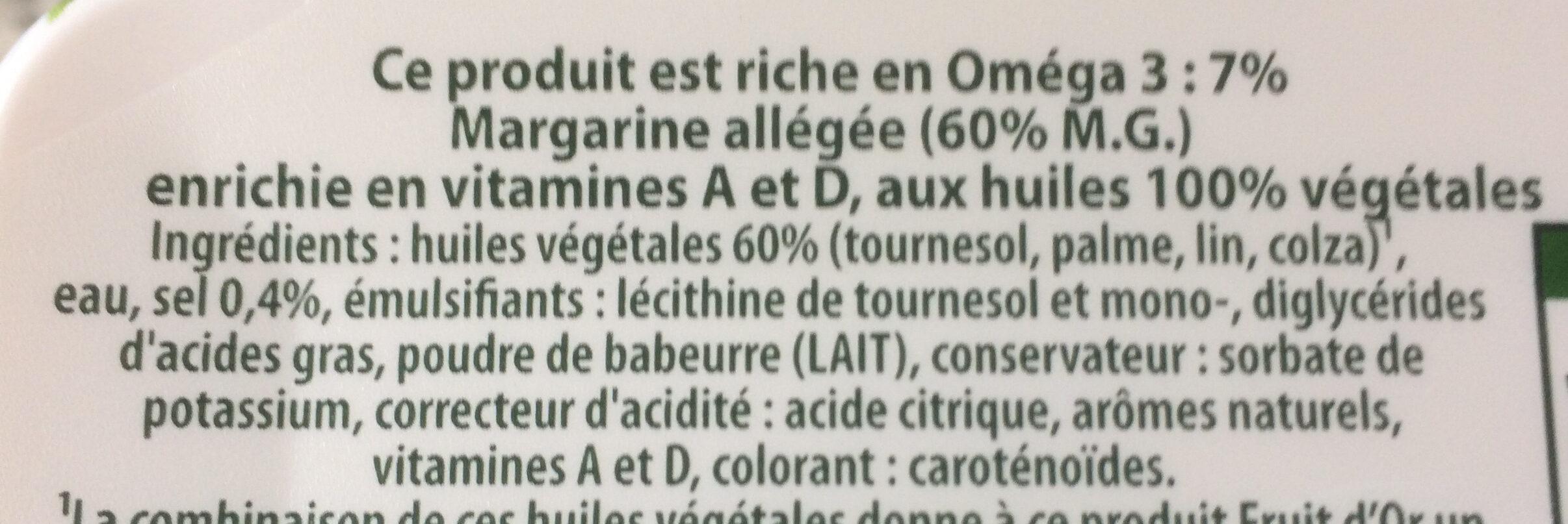 Fruit d'or doux - Ingredients