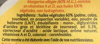 Planta fin tartine et cuisson - Ingredients - fr