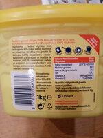 Margarine Tartine et Cuisson - Ingrédients - fr