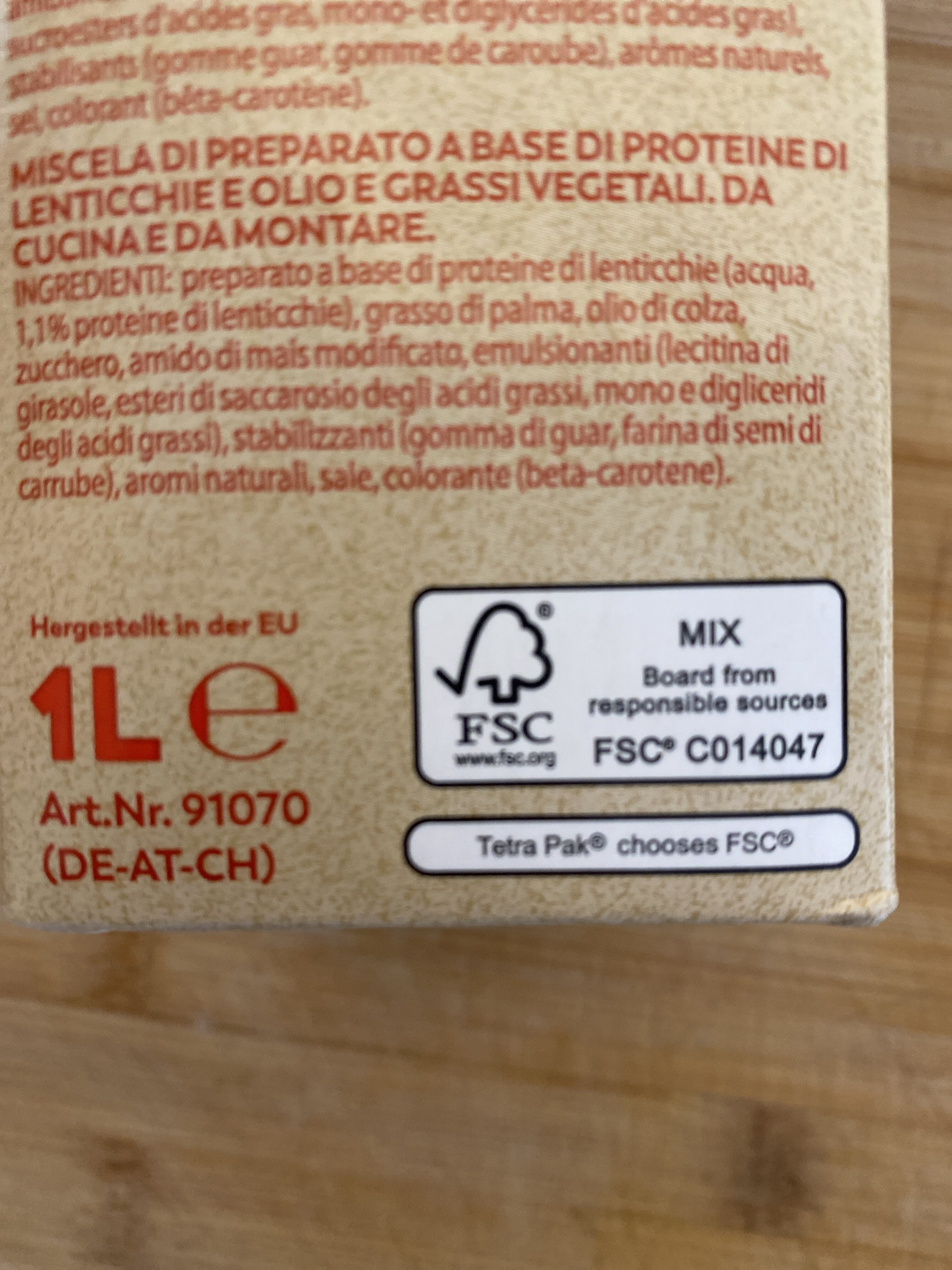 Flora Plant 31% - Istruzioni per il riciclaggio e/o informazioni sull'imballaggio - fr