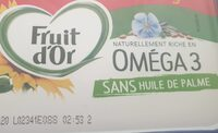 FRUIT D'OR OMEGA 3 - Prodotto - fr
