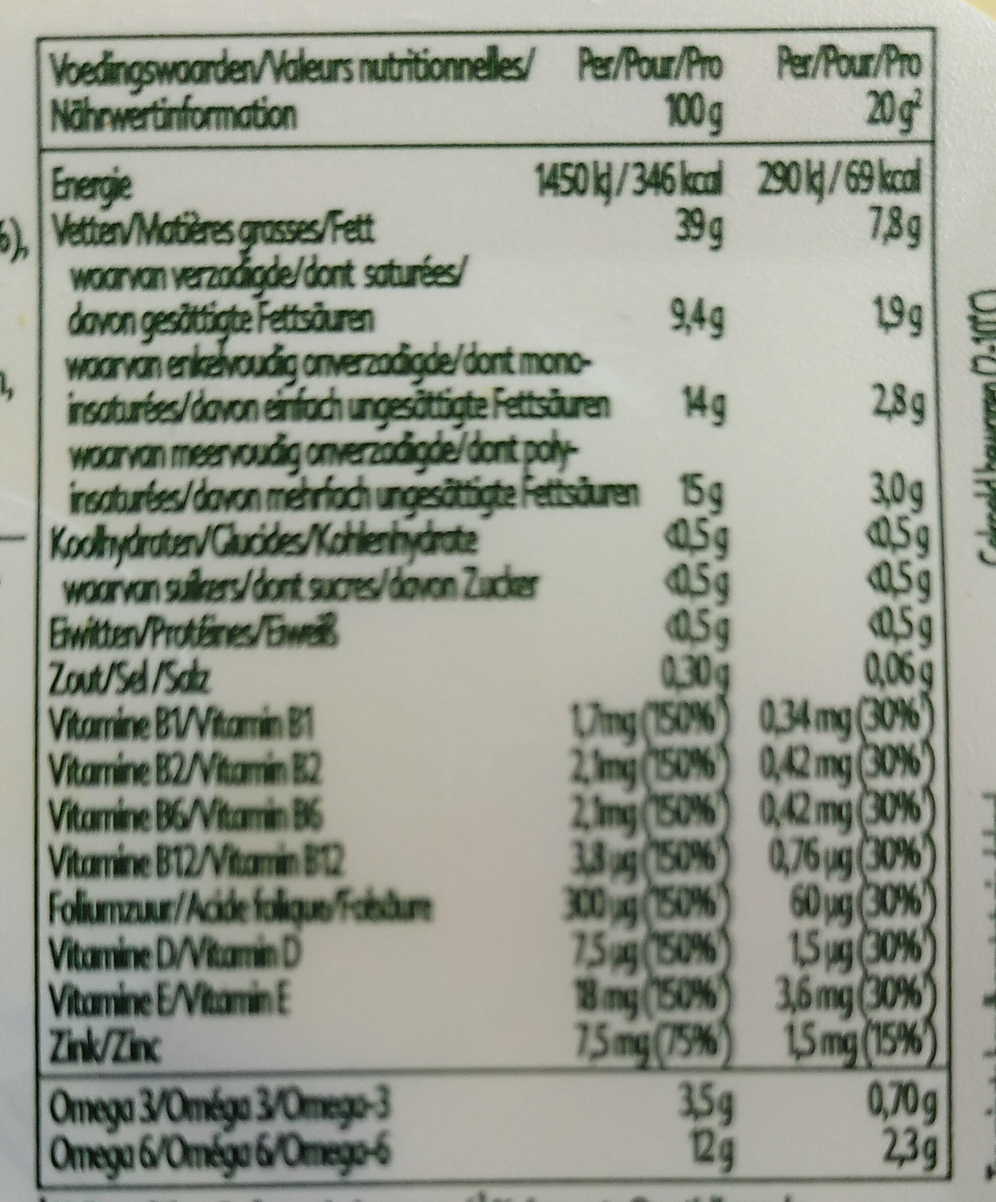 immune - Informazioni nutrizionali - nl