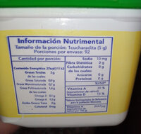 Mantequilla primavera - Nutrition facts - es