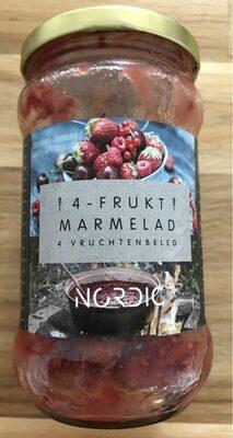 4-frukt marmelad - Product - fr