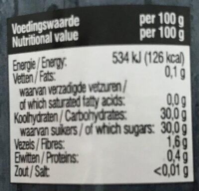 4-frukt marmelad - Voedingswaarden - fr
