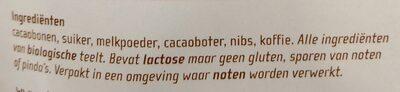 Chocozeiltjes - Ingredients - nl