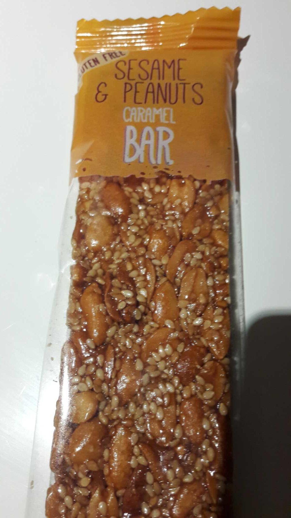 Barre de sesame au caramel - Produit - fr