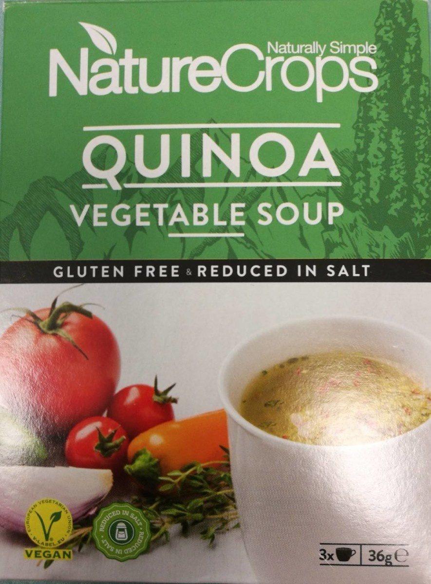 Quinoa vegetable soup - Product - fr