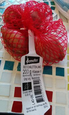 Bio Schalotten lang - Produkt