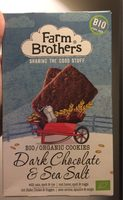 Dark chocolate and sea salt - Produit - fr