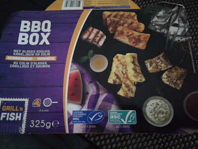 BBQ box grill'n fish - Product - fr