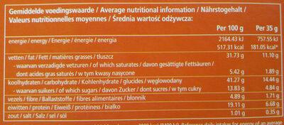 Soft peanut bar - Voedingswaarden - nl