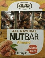 Nutbar all natural - Product - fr