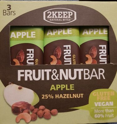 Fruit&Nut Bar - Product - fr