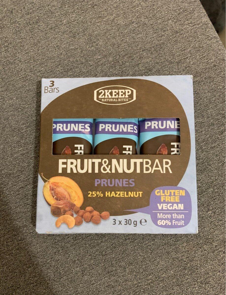 Barres prunes et noisettes - Informations nutritionnelles - fr
